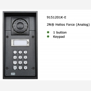 2N® Helios Force 1 button & keypad
