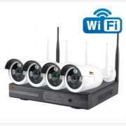 KIT WiFi 4xCAM 2.0MP + NVR